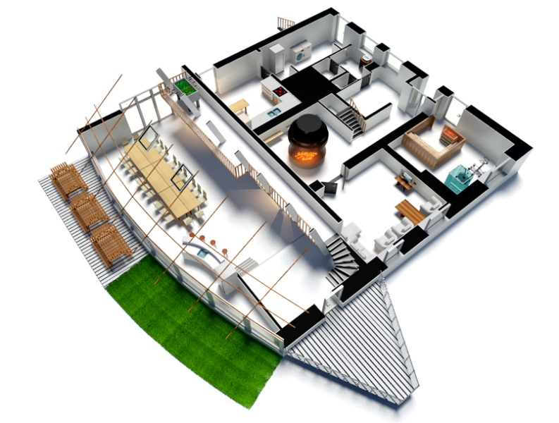 Best Free Over With Site Plan Maison D Gratuit With Plan De Maison En 3d